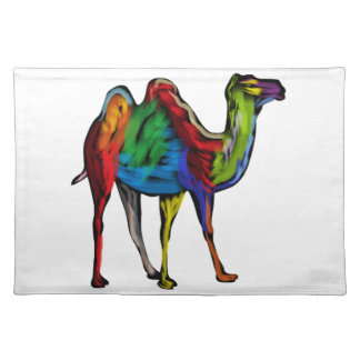 CAMEL OF COLORS PLACEMAT