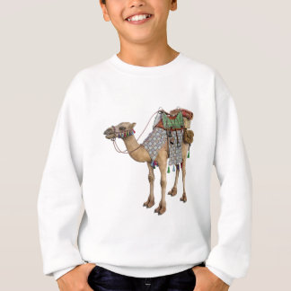 Camel prepared for Ancient Rider Sweatshirt