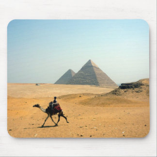 camel pyramid mouse pad