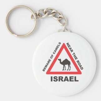 Camel Sign in Israel Key Ring