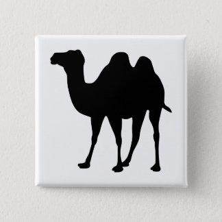 Camel Silhouette 15 Cm Square Badge