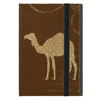 Camel Silhouette Case iPad Mini Case