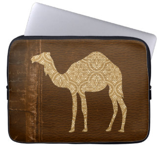 Camel Silhouette Computer Sleeve