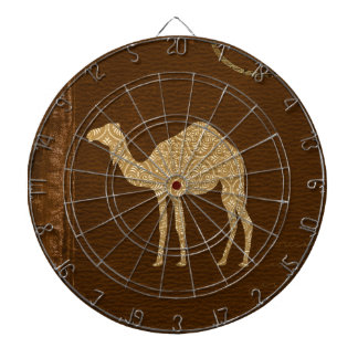 Camel Silhouette Dartboard