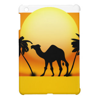 Camel silhouette iPad mini covers