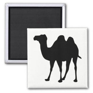 Camel Silhouette Magnet
