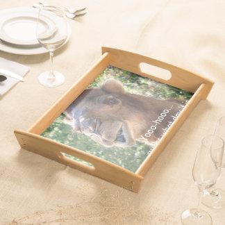 Camel speaks serving tray