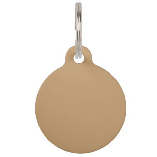 Camel Top Color Coordinated Pet ID Tag