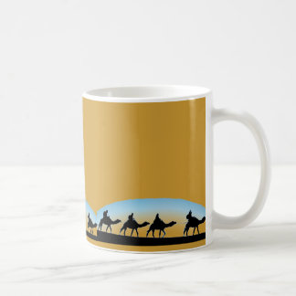 CAMEL TRAIN COFFEE MUG