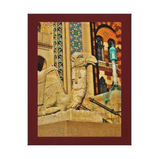 Camel View Canvas Print