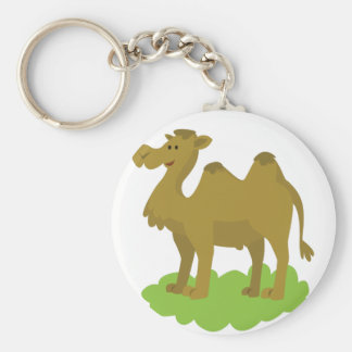 camel walking tall key ring