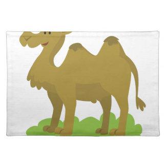 camel walking tall placemat