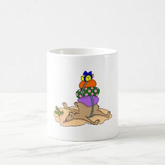 Camel With Heavy Load Coffee Mug