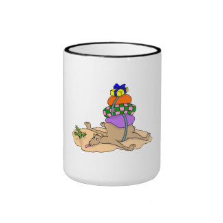 Camel With Heavy Load Mugs