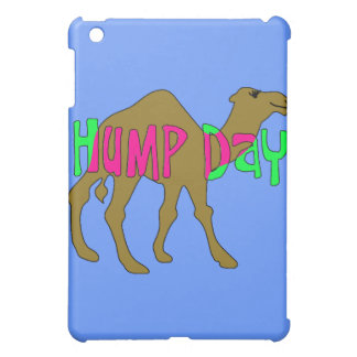Camel with Hump Day in Pink and Green Cover For The iPad Mini