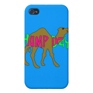 Camel with Hump Day in Pink and Green iPhone 4/4S Cover