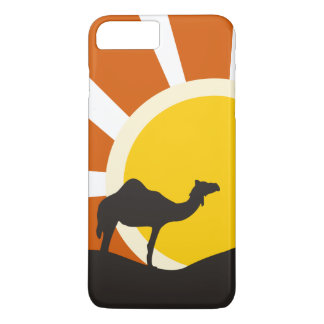 Camel With Sunset iPhone 7 Plus Case