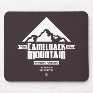 Camelback Mountain (Dark) - Mousepad