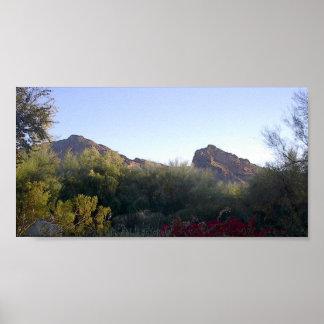 Camelback Mountain Poster