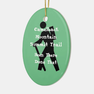Camelback Mountain Summit Trail Ceramic Ornament