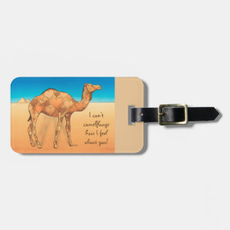 Camelflouge Luggage Tag