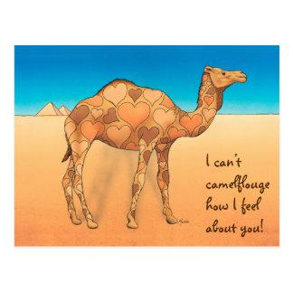 Camelflouge Postcard