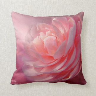 Camellia Art Designer Pillow