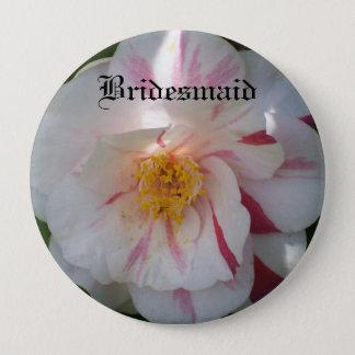 Camellia Bridesmaid Button