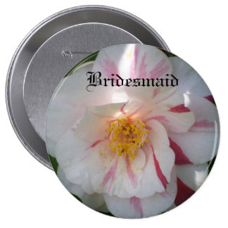 Camellia Bridesmaid Button