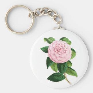 Camellia, Duchesse De Nassau Key Ring