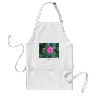 Camellia Flower Adult Apron