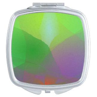 Camellia Green Haze Compact Mirror