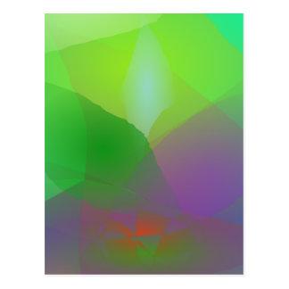 Camellia Green Haze Postcard