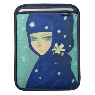 Camellia Ikeda Shuzo oriental lady girl painting iPad Sleeves