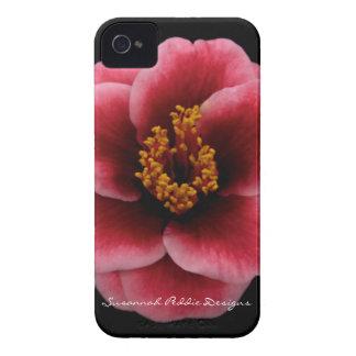 Camellia iPhone Case by Susannah Peddie Designs