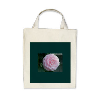 Camellia - Organic Grocery Tote Bags
