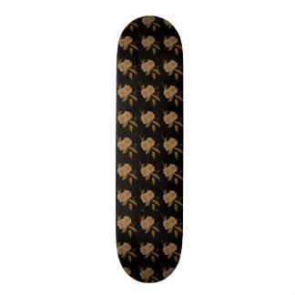 Camellia Pattern 21.3 Cm Mini Skateboard Deck