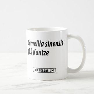Camellia sinensis (L.) Kuntze Basic White Mug