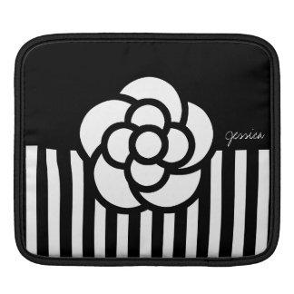 Camellia Stripes iPad Sleeve