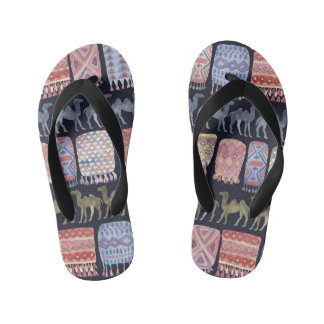 Camels and blankets flip flops thongs