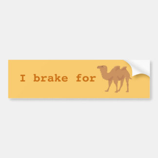Camels Bumper Sticker