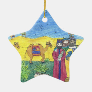 CAMELS GIFTS AND THREE WISE MEN: star ornament