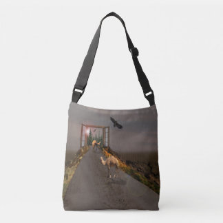 Camels Of To Wonderland, Crossbody Bag