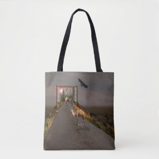 Camels Of To Wonderland, Tote Bag