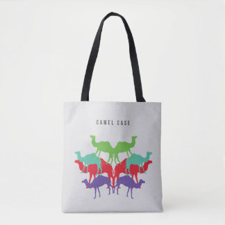Camels on Tote Bag