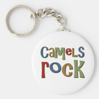 Camels Rock Basic Round Button Key Ring