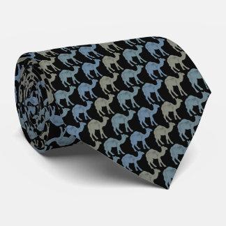 Camels Tie Armani Gray Black Tie