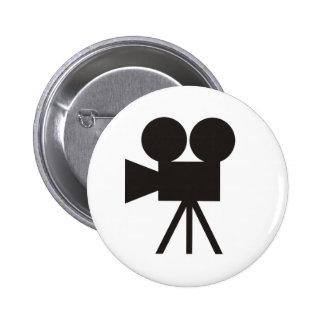 Camera Action 6 Cm Round Badge