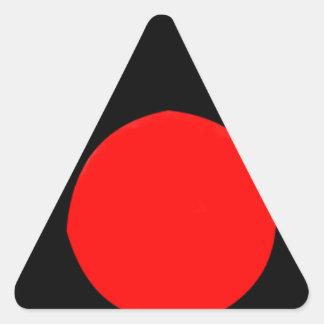 Camera Design Triangle Sticker