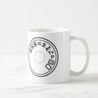 Camera Dial Mode Coffee Mug
